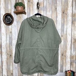 American Eagle Outfitters Jackets & Coats - AEO Green Utility Hooded Jacket